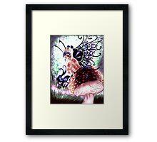 Shroom Fairy Framed Print