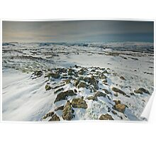 Yorkshire Snow Poster