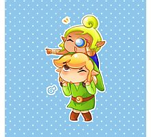 Legend of Zelda Wind Waker: Link and Tetra Photographic Print