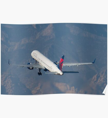 N641DL Delta Airlines Boeing 757-232  Poster