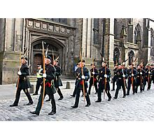 The Royal Company of Archers Photographic Print