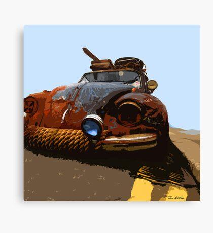 VW RAT Beetle Canvas Print