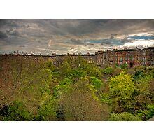 Town Houses of Edinburgh Photographic Print