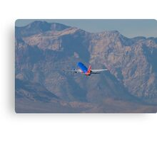 N370SW Southwest Airlines Boeing 737-7H4 Departure Canvas Print