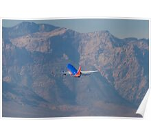 N370SW Southwest Airlines Boeing 737-7H4 Departure Poster