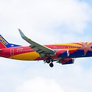 N383SW Arizona One Southwest Airlines Boeing 737-7H4 Approach by Henry Plumley
