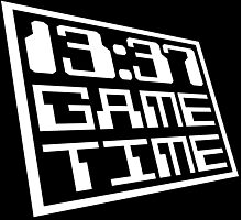 Game Time 13:37 Photographic Print