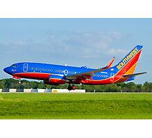 N443WN Southwest Airlines Boeing 737-7H4 Photographic Print