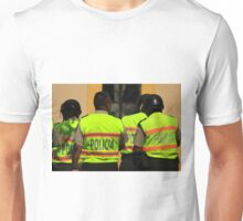 Police Officers in Uniform Unisex T-Shirt