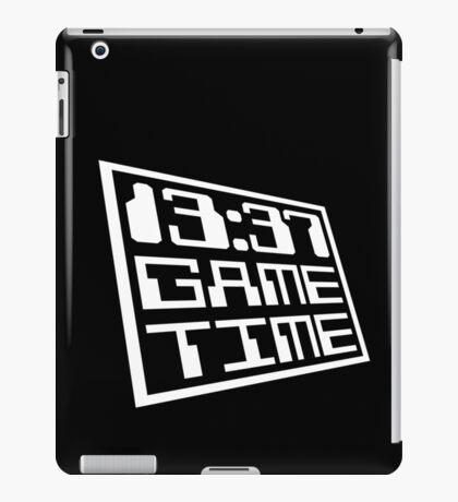 Game Time 13:37 iPad Case/Skin