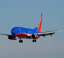 N705SW Southwest Airlines Boeing 737-7H4 by Henry Plumley