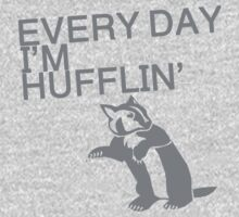 Every Day I'm Hufflin' One Piece - Short Sleeve