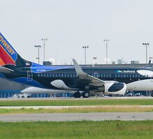N715SW Southwest Airlines Boeing 737-7H4 Shamu by Henry Plumley