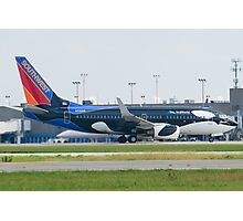 N715SW Southwest Airlines Boeing 737-7H4 Shamu Photographic Print