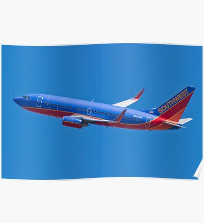 Southwest Airlines N263WN Poster