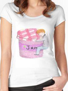 Watson's Jam-Jar Women's Fitted Scoop T-Shirt