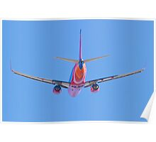 Tail shot of a Southwest Airlines Boeing 737 Poster