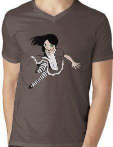 Alice Liddell [pick her dress colour] Mens V-Neck T-Shirt