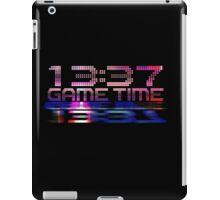 Future Game Time 13:37 iPad Case/Skin