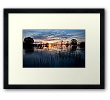 Menindee Magic Framed Print
