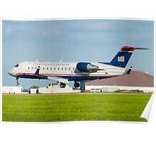 N428AW US Airways Express CL-600-2B19 Poster