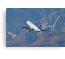 N508AY US Airways Airbus A321-231 Canvas Print