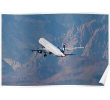 N508AY US Airways Airbus A321-231 Poster