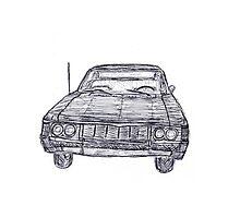 '67 Impala by flora-fauna