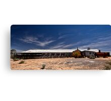 Kinchega Shearing Shed Canvas Print