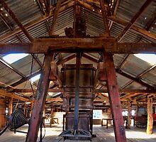 Kinchega Wool Press - Menindee, NSW by Malcolm Katon