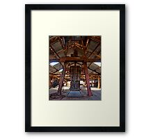 Kinchega Wool Press - Menindee, NSW Framed Print