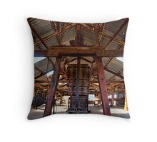 Kinchega Wool Press - Menindee, NSW Throw Pillow