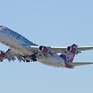 Gear Up G-VAST Virgin Atlantic Airways Boeing 747-400 by Henry Plumley