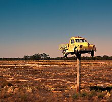 It Pays to Advertise - Pooncarie NSW by Malcolm Katon