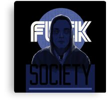 Mr Robot TV Series FSociety 2 Canvas Print