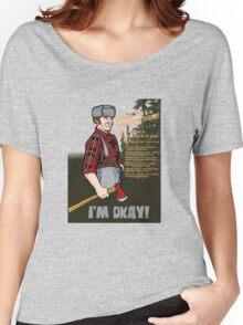 Lumberjack warning! Women's Relaxed Fit T-Shirt