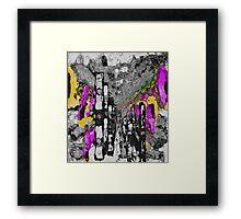 'All Over' Framed Print