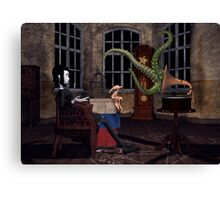 Her Masters Voice Canvas Print