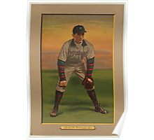 Benjamin K Edwards Collection Tommy Leach Pittsburgh Pirates baseball card portrait Poster
