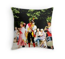 Saturday afternoon in Ely Throw Pillow