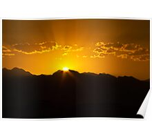 Sunset Almost Gone Poster