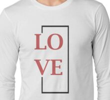 Rectangle Love Long Sleeve T-Shirt