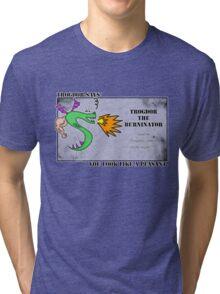 Trogdor the Burninator - Peasants Tri-blend T-Shirt