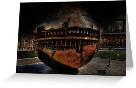 Grunge Art Part I - Vatican Garden by Erik Brede