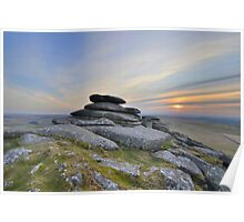 Cornwall: Outcrop on Roughtor Poster