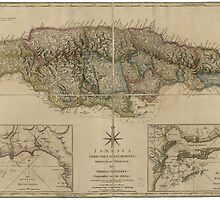 Map of Jamaica (1775) by allhistory