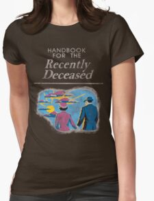 Beetlejuice - Handbook of the Recently Deceased Womens Fitted T-Shirt