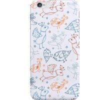 Cute Bird Pattern iPhone Case/Skin