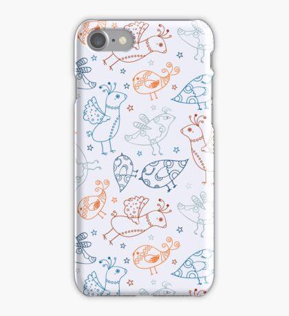 Cute Bird Pattern iPhone Case/Skin
