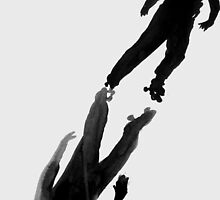 boy on skates by Loui  Jover